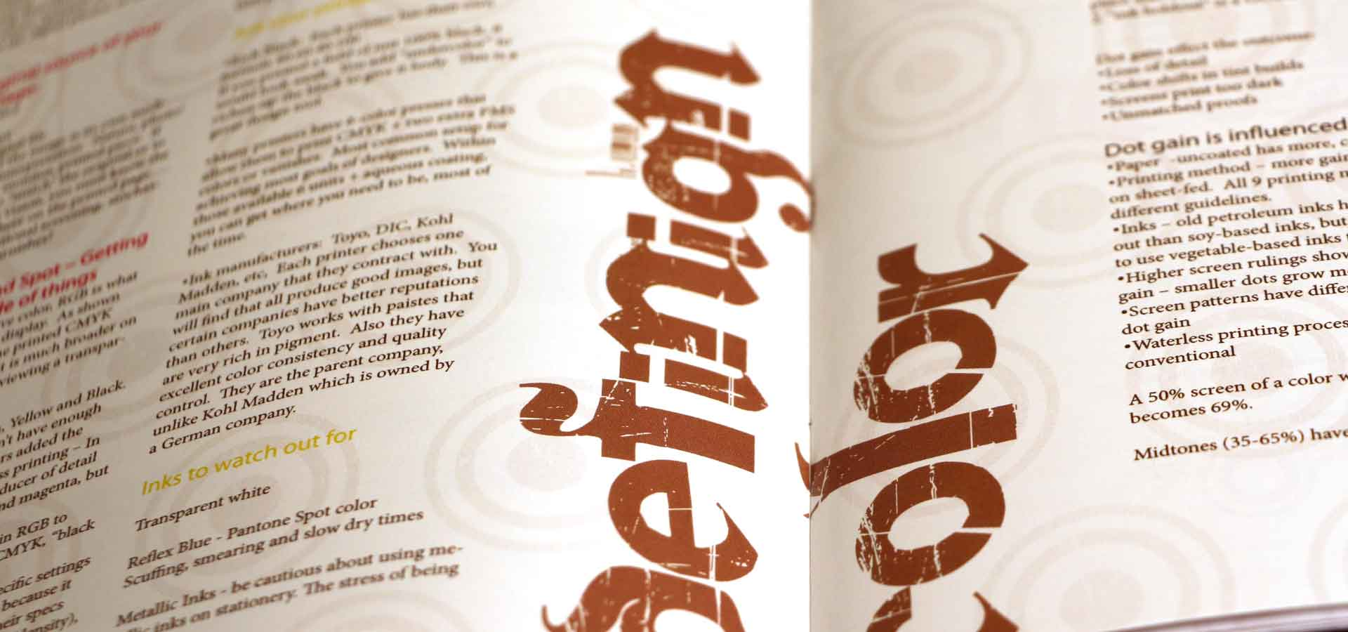 The Art of Printing Publication Design